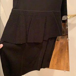 Milly of New York Dresses - Milly of New York Nicole peplum knit dress